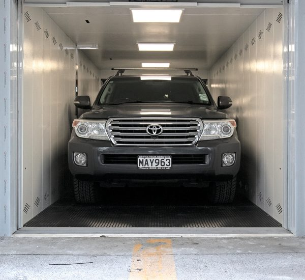 Residence Car Lift Open