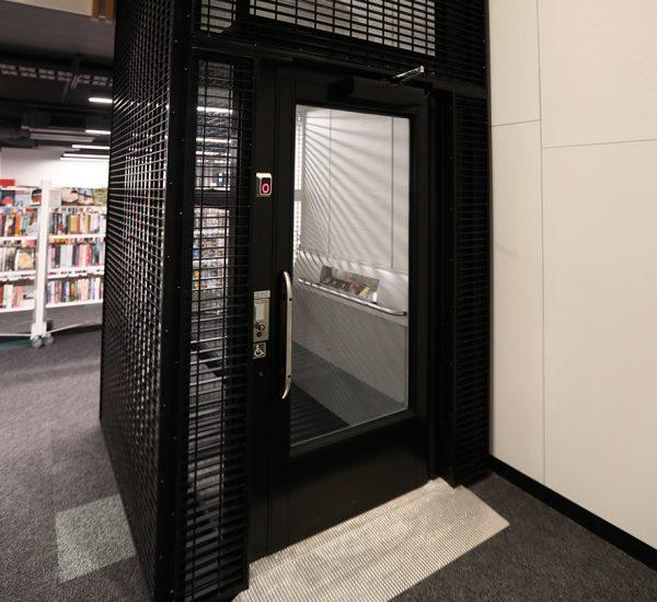 Wellington City Library Lift